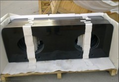 Natural Stone Materials Cultured Granite Kitchen Countertop
