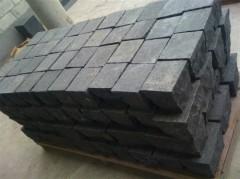 Gray granite paver cube stone