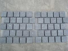 Granite cube stone outdoor paving tiles