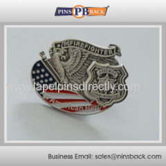 3D die struck lapel pin