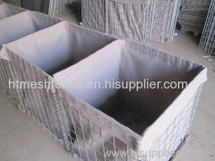 Sand Filled Hesco Barrier Military Perimeter Security Hesco Barrier
