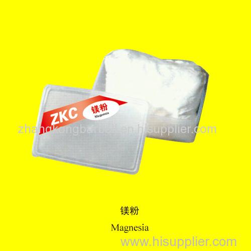 china zhangkong brand magnesia