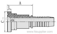SAE FLANGE 3000 PSI ISO 12151-3-SAE J516 Hydraulic hose fitting 87311