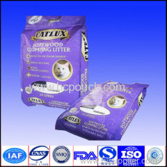 side gusset package for pet food