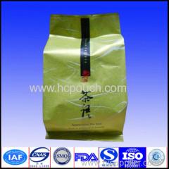 side gusseted tea package