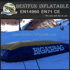 High Fall Mountain Ski Giant Pillow