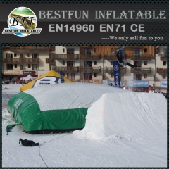 PVC Mountain Ski Giant Pillow
