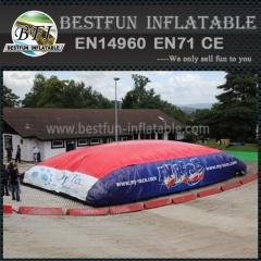 PVC Inflatable dry-slope Jump Bigairbag Cushion