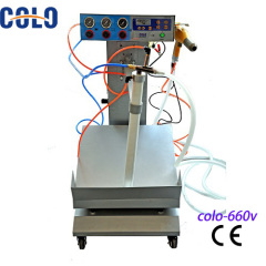 box feeder powder spraying gun