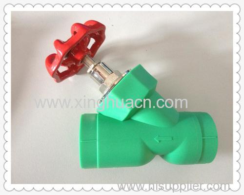 PP-R Y type stop valve