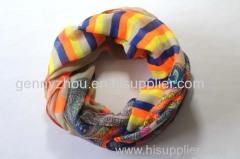 Loop polyester scarf, loop scarf