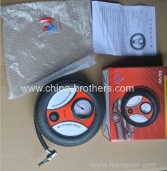 New safety car tire inflator pump car air pump