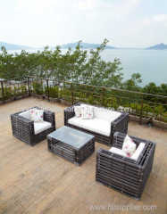 2014 new design water pipe rattan outdoor furniture