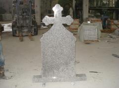 European Nature Granite Headstone Designs