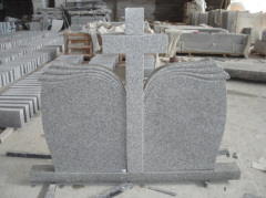cross granite headstones gravestone