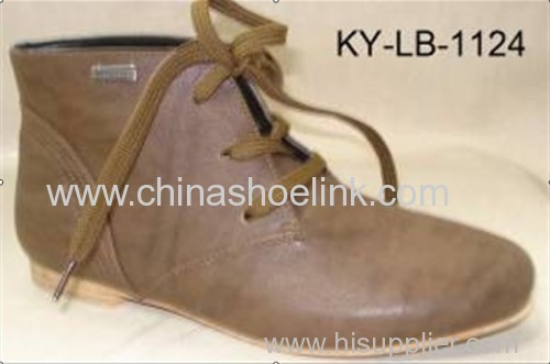 Jade brown lady winter boots