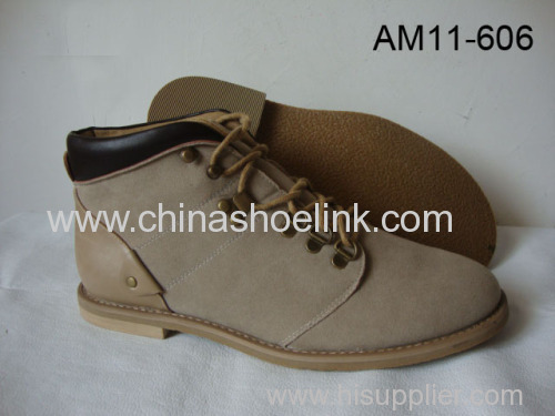 Men winter ankle boots made in China