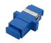 fiber adaptor with plastic housing