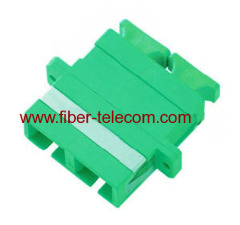 SM fiber adapter with plastic housing