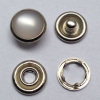 Pearl Cap Prong Snap Button Nickle Color