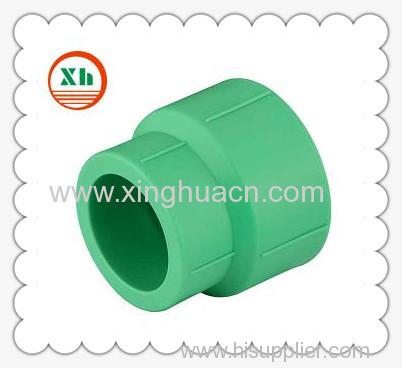 PP-R plastic fittings reduced socket