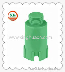 PP-R plastic fittings long thread plug