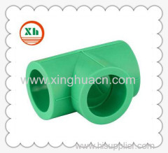 PP-R all plastic fittings equal tee