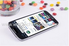 3G S4 I9500 MTK6589 Quad Cord Android 4.2 WIFI GPS 12.8MP Camera 1GB Ram+16GB Rom Air gesture 4.8 lnch White or Black