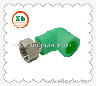 PP-R female elbow with adaptor