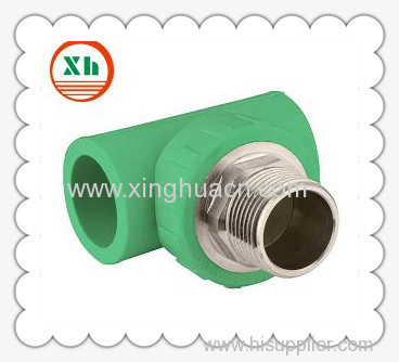 PP-R combined fittings male tee