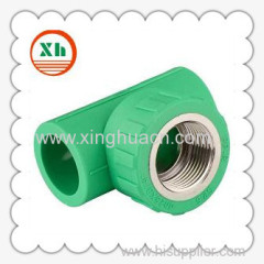 PP-R combined fittings female tee