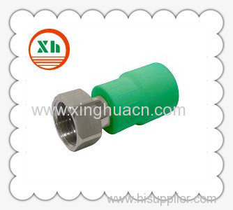 PP-R combined fittings female coupling with adaptor
