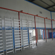Install powder coating line in Russia and Indonesia
