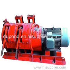 Good quality 7.5 kw wire rope electric scraper winch