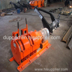 7.5kw wire rope electric scraper winch for sale