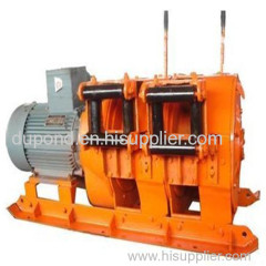 7.5kw wire rope electric scraper winch