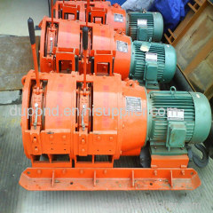 Double-drum 7.5kw underground scraper winch