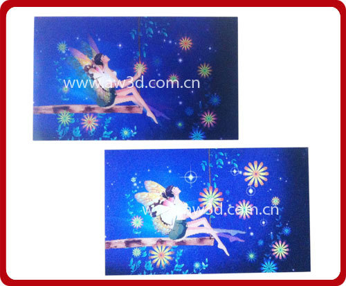 3d Lenticular Printing Card