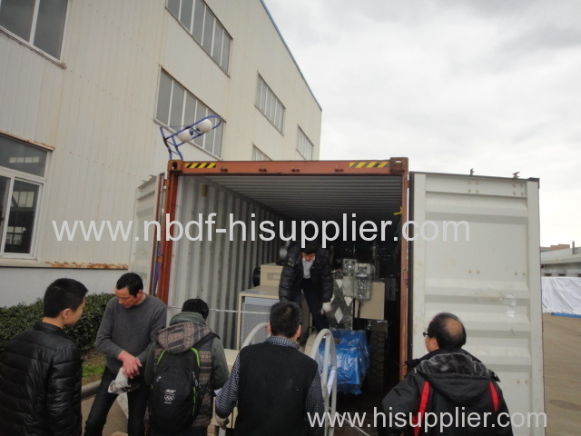 9 ton hydraulic conductor puller are exported to Angola