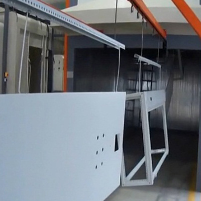 powder coating line manufacturer