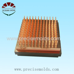 Material copper electrode machining factory