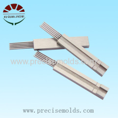 Plastic mold parts machining