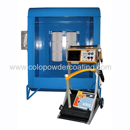powder spray booth manufacturer