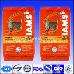 side gusset pet food bags