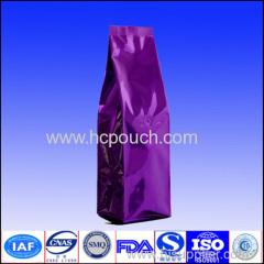 side gusset aluminum foil coffe bag