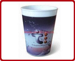 pp 3D lenticular cup