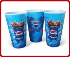 3D cup,plastic cup ,lenticular cup,pp cup