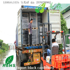 hard 550g black paper folder
