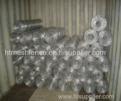 Galvanized steel cattle fence wire