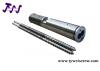 twin parallel screw barrel, twin screw barrel,double screw barrel, plastic machinery screw barrel